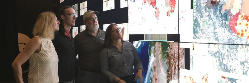 The WIFIRE research team at UC San Diego